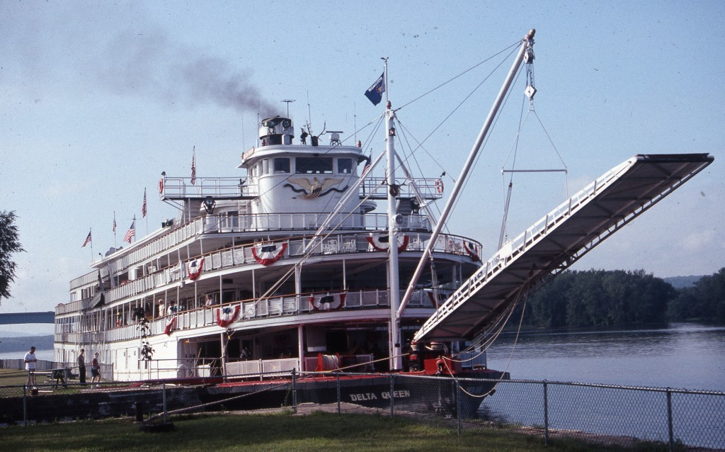 Steamboat Delta Queen built 1926 and currently being restored. * Photo: Ted Scull