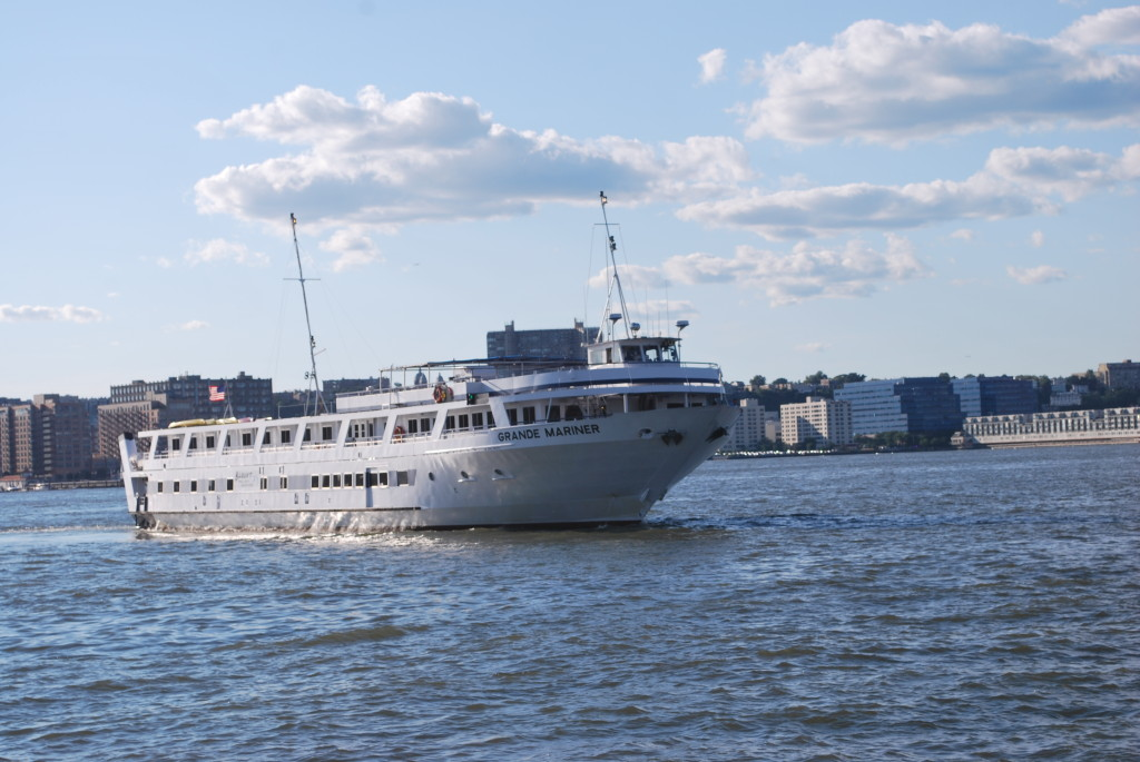 Blount's Grande Mariner takes 100 passengers on coastal and inland voyages. * Photo: Ted Scull