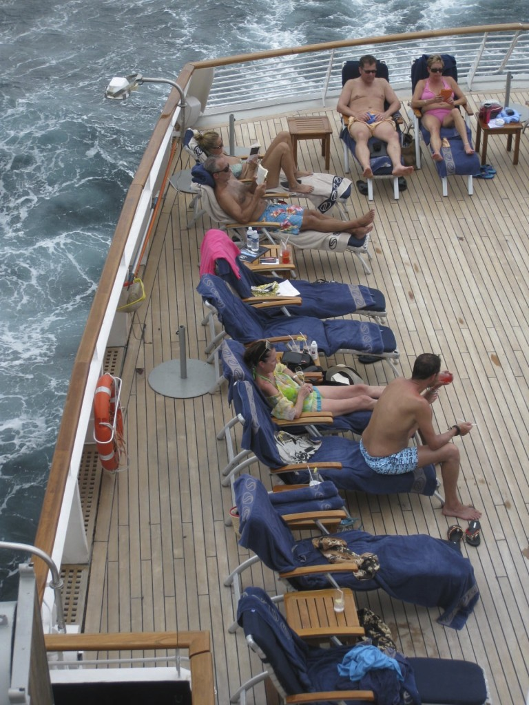 Life on a SeaDream cruise is lived up on deck. * Photo: Heidi Sarna