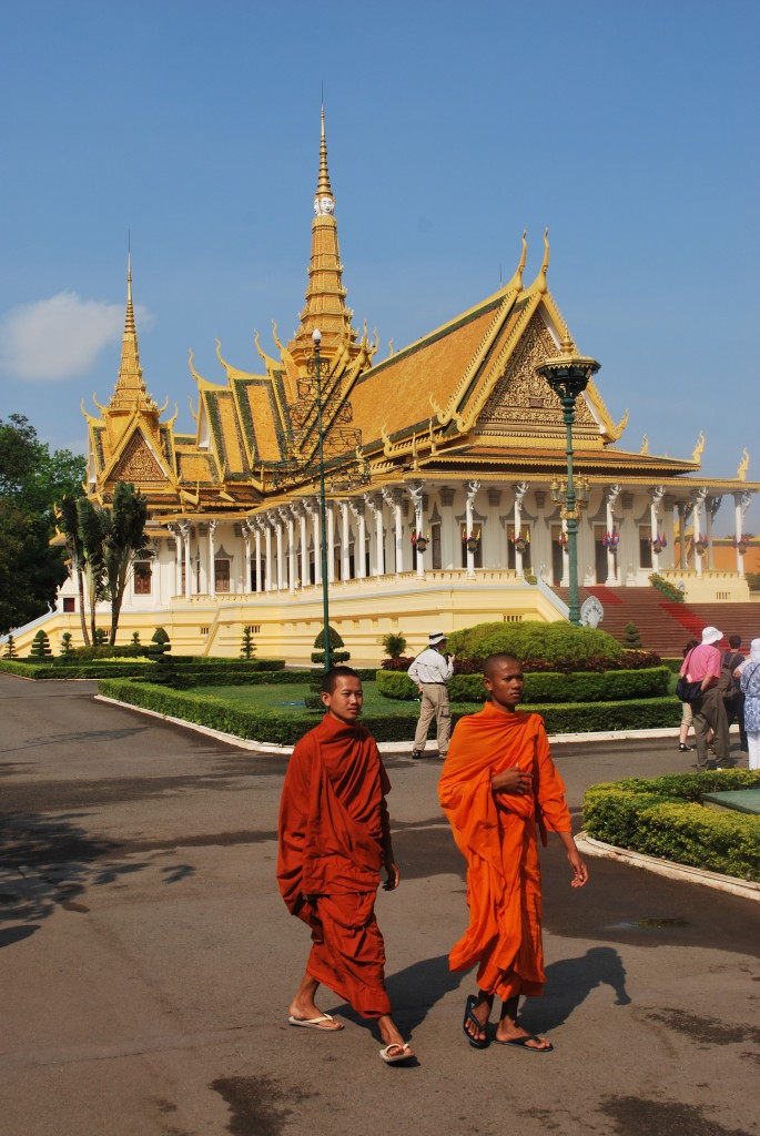 The gilded Royal Palace of Phnom Penh. Photo: © Ted Scull