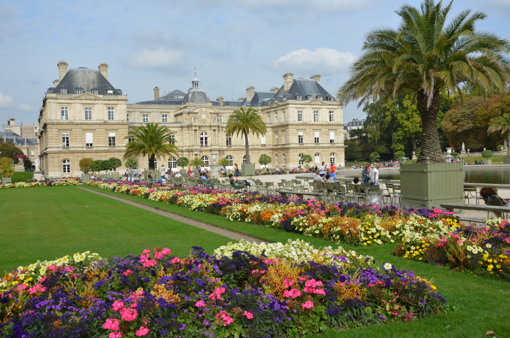 Luxembourg Gardens, Paris. * Photo: Ted Scull