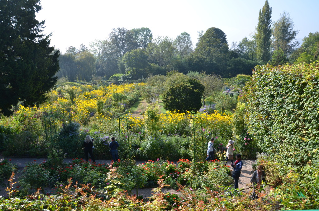 Claude Monet's gardens at Giverny. * Photo: Ted Scull