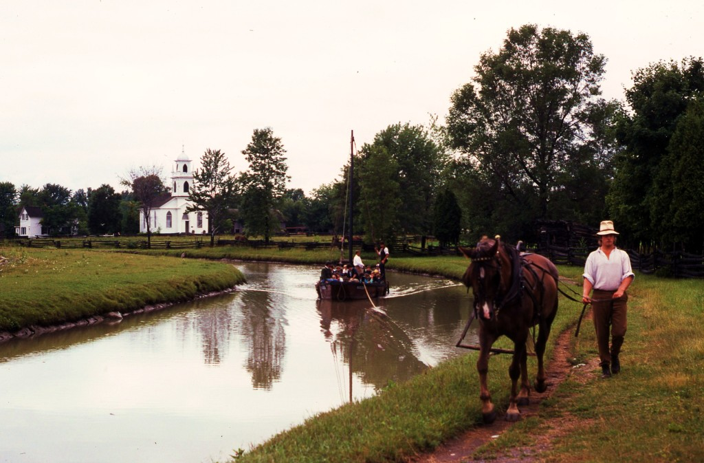 Upper Canada Village recreates 19th century life in small-town Ontario. * Photo: Ted Scull