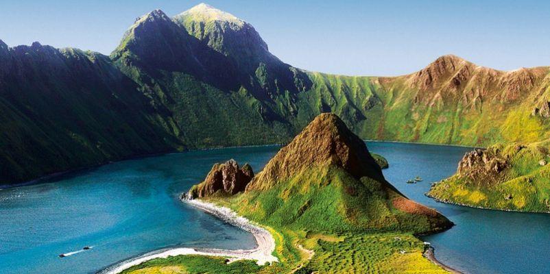 Breathtaking scenery. * Photo: Nobel Caledonia
