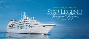 Star Legend debuts. Photo Credit: Windstar Cruises