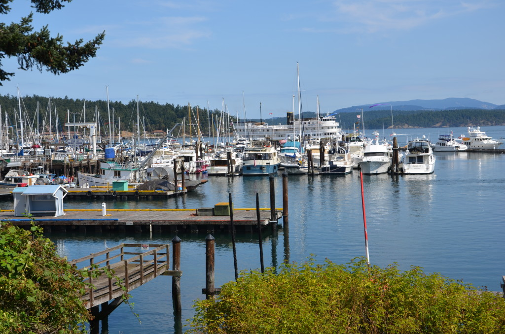 Friday Harbor in Washington's San Juan Islands is a favorite cruise stop when ships leave Seattle.
