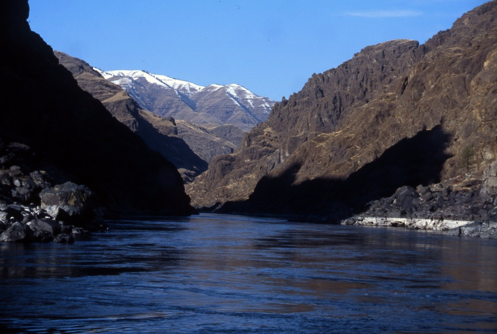 The headwaters of Snake River navigation burrows deep into Idaho's Hells Canyon.