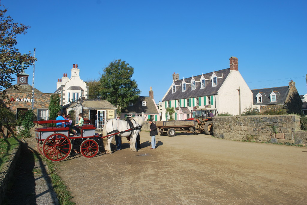 The village, Isle of Sark, Channel Islands. * Photo: Ted Scull