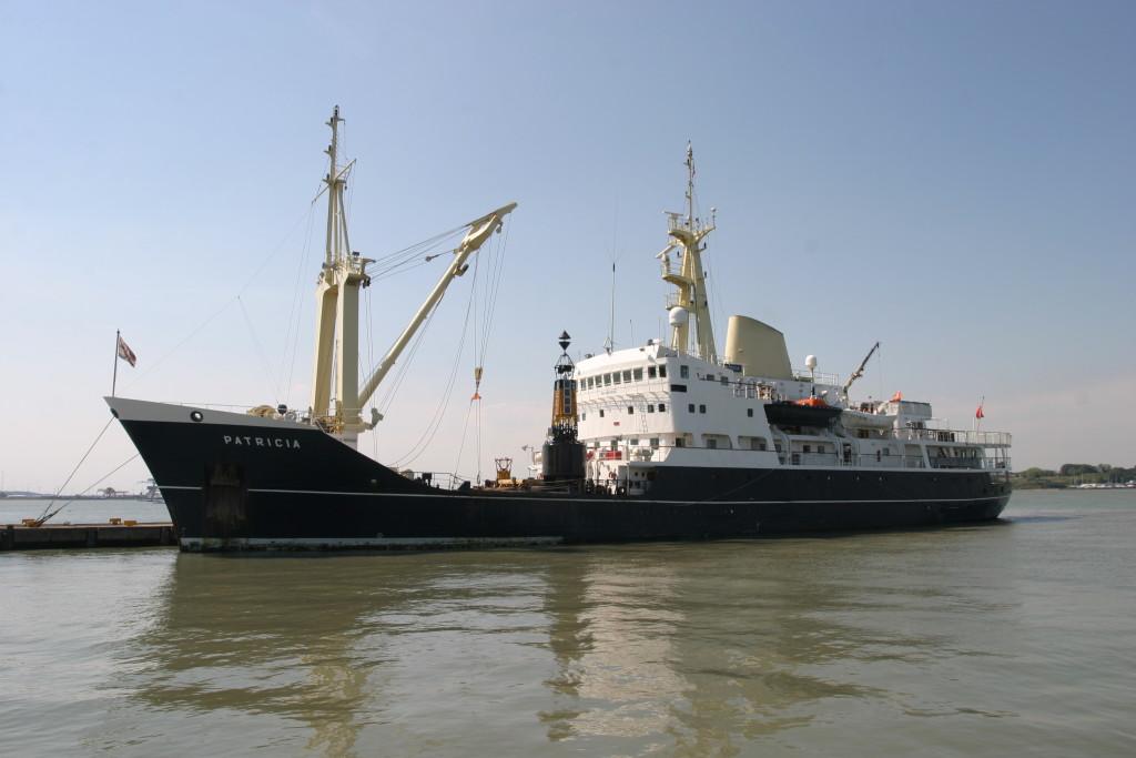 Trinity House Vessel PATRICIA