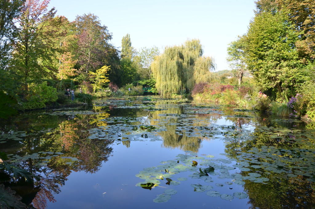 Claude Monet's gardens at Giverny is a favorite stop on a River Seine cruise.